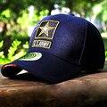 Estrela Bordado 2016 EUA Airborne Caps Montanhismo Esportes Ao Ar Livre Tático Jogo de Guerra Do Exército Das Mulheres Dos Homens Bonés de Beisebol Chapéus Snapback