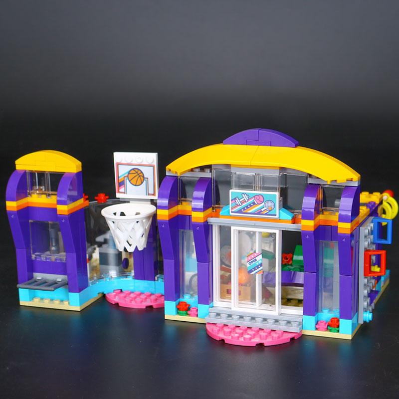 Lepin 01012 Good Girls Series The Lakeheart Sport Centre Set Children Building Blocks Bricks Toys Model funny Gift 41312 Toys рюкзак salomon salomon trail 20 темно красный 20л
