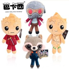 guardianes de la galaxia plush toy baby groot stuffed soft dolls & toy action figure anime kids toy gift for boy children
