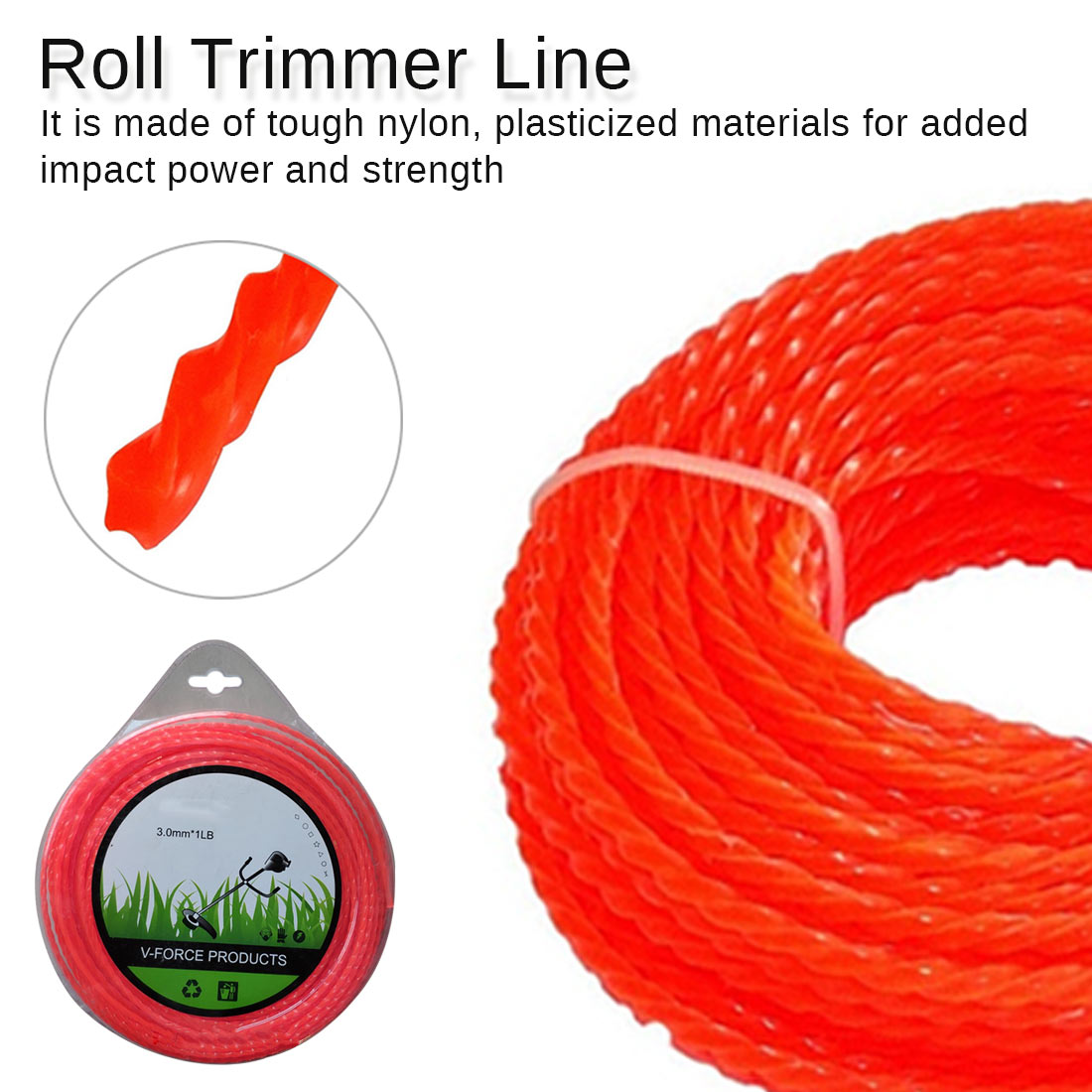 Nylon Cord Aluminum Grass Trimmer Head With 4 Lines Brush Cutter Head Thread Nylon Grass Cutting Line Head For Replacement