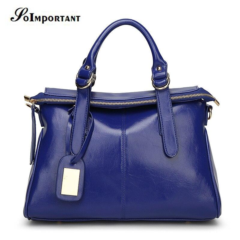 ФОТО Bags Women Oil Leather Handbag Women Casual Tote BAO BAO Bag Women Big Large Crossbody Bag Female Shoulder Bag Hot Bolso Mujer