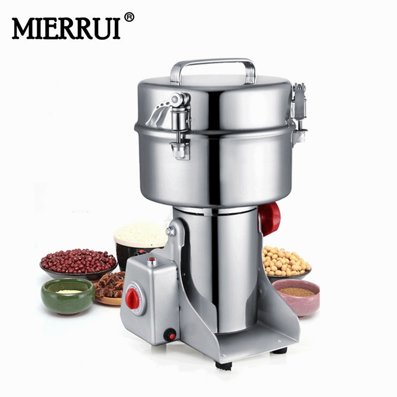 1500g  multifunctinal fineness powder mill swing type stainless steel electric weed grinder Мельница