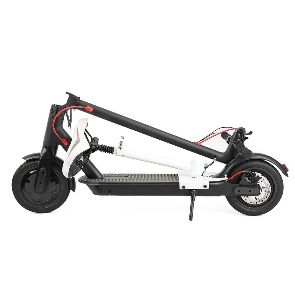 Planche à roulettes électrique électrique se pliante intelligente de Scooter électrique de longboard Hoverboard avec l'affichage d'écran d'affichage à cristaux liquides de 2 roues de lumière LED - 6