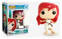 Exclusive Official Funko pop The Little Mermaid Ariel White Sail Rags Dress Vinyl Action Figure Collectible Model Toy In Box