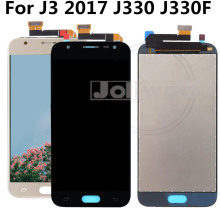 Can Adjust Brightness J330 LCD For Samsung  J3 2017 J330F Digitizer Touch Screen Assembly