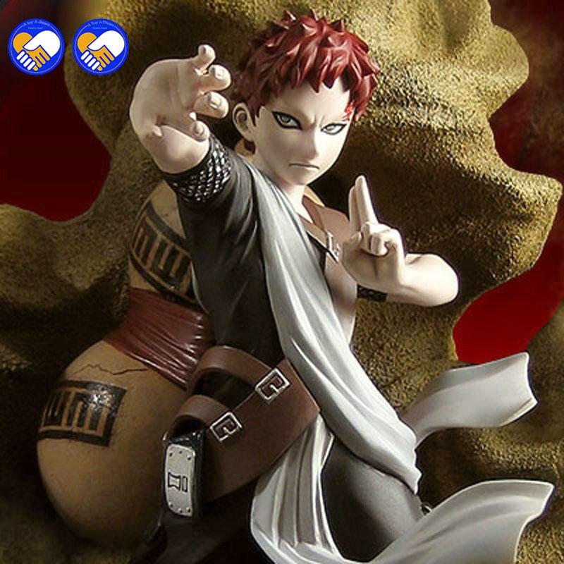 A toy A dream 1pcs 21 5CM pvc Japanese anime figure Naruto Toynami Sabaku no Gaara