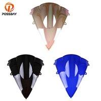 Possbay Мотоцикл лобового стекла ветрового Moto Ветер Дефлектор пригодный для Honda CBR600RR F5 2007 2008 2009 2010 2011 2012 Parabrisas