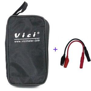 VICI общие сумки для измерительных приборов + Аллигатор/щуп-кро кодил  для мультиметр с зажимом метров vc97 vc99 vc9808 vc6243 vc6013 легко носить с собой