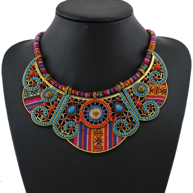 Bohemian Vintage Collar Choker Necklace