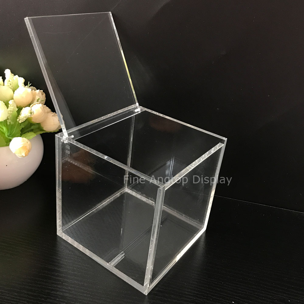 13x13x13cm Transpa Acrylic Cube Jewelry Display Box Wedding Gift Favor In Packaging From Accessories On Aliexpress