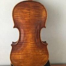 Мастер 4/4 Размер Скрипки модель stradi ель Топ верхом из обожжённого mample задняя no2