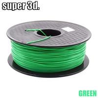 ABS filament 1KG 3D printer 1.75mm printing plastic Material for for MakerBot/RepRap/UP/Mendel 3D Printer Parts 3d printer pen