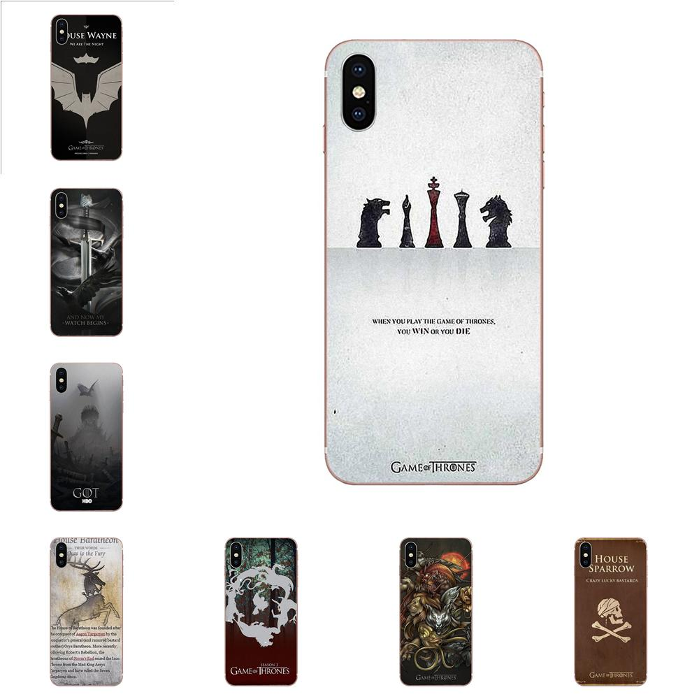 Good quality and cheap huawei y6 prime 2018 case game of