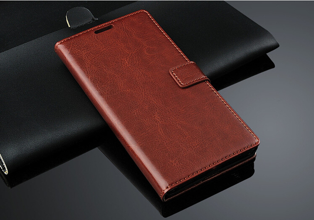 For Lenovo VIBE Z2 Pro K920 Retro Flip Wallet Genuine Leather Cover For Lenovo K920 Phone Bags Stand Function Three Card Holder