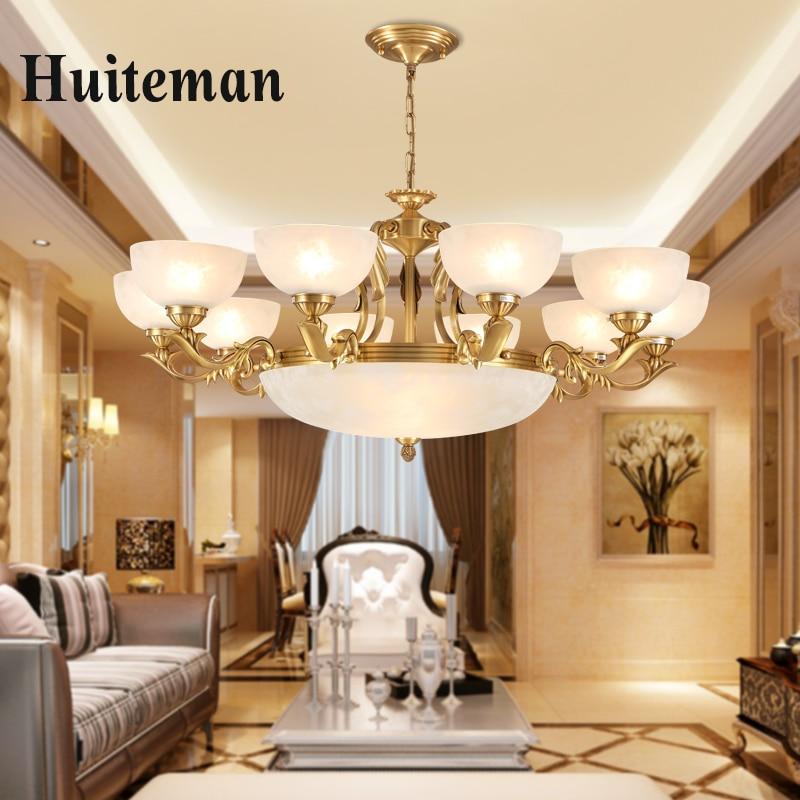 Modern Chandeliers Home Lighting Fixture lustres de cristal Decoration Luxury Candle Chandelier Pendants Living Room Indoor Lamp