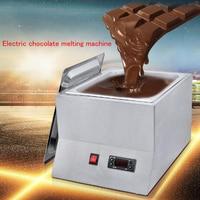 1 صينية الفولاذ المقاوم للصدأ الكهربائية الشوكولاته فرن صهر اسطوانة واحدة الشوكولاته وعاء صهر المعادن للأغراض التجارية وهوم FY QK 620-في ماكينة المطبخ من الأجهزة المنزلية على