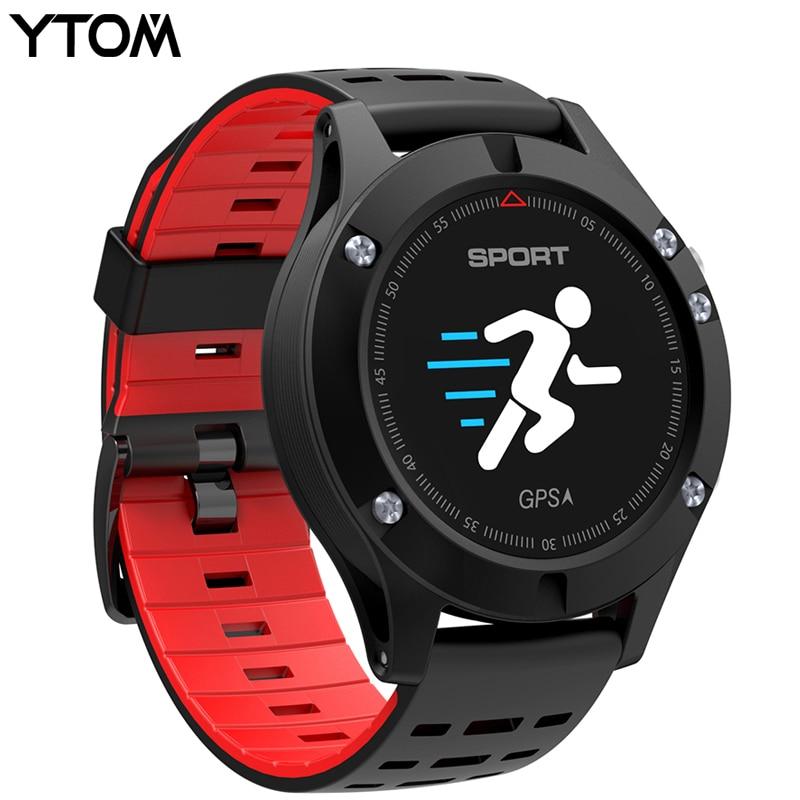 Meilleur Montre Smart Watch Construit en GPS GPS ip67 étanche Coeur taux Moniteur En temps Réel la température pour android et IOS sport smartwatch