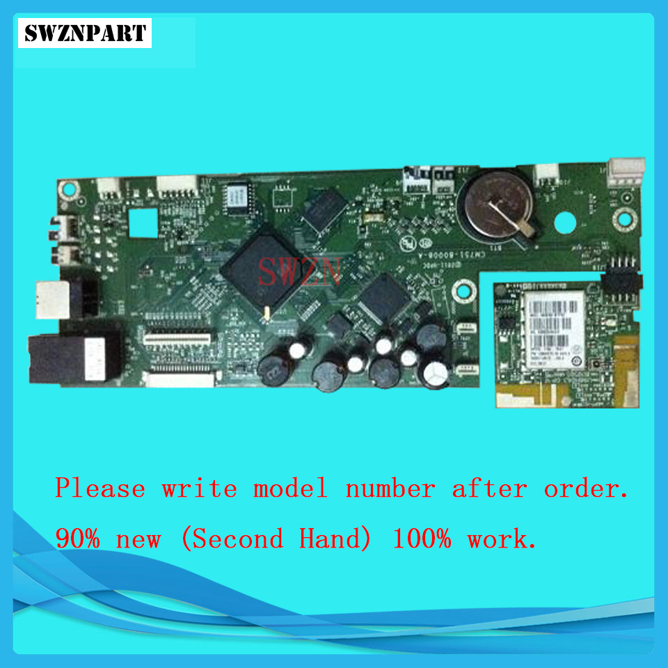 FORMATTER PCA ASSY Formatter Board logic Main Board MainBoard For HP Officejet Pro 8100 8100DW CM749-80001 formatter pca assy formatter board logic main board mainboard mother board for hp m775 m775dn m775f m775z m775z ce396 60001