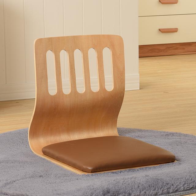 (4 pçs/lote) TATA Zaisu Japonês Cadeira Assento Almofada de Couro Mobiliário Asiático Tradicional Projeto Chão Tatami Zaisu Cadeira Sem Pernas