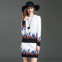 Brand New Fashion Runway Sets 2017 Autumn Winter Women S 2 Pieces Clothing Set Long Sleeve