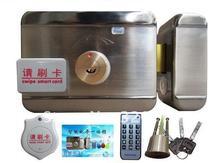 Bloqueio inteligente, eletrônico de bloqueio do cartão RFID integrado, duplo cartão de leitura com 3 pcs chave, 125 KHZ + 10 PCS livre etiquetas em sn: yz-72