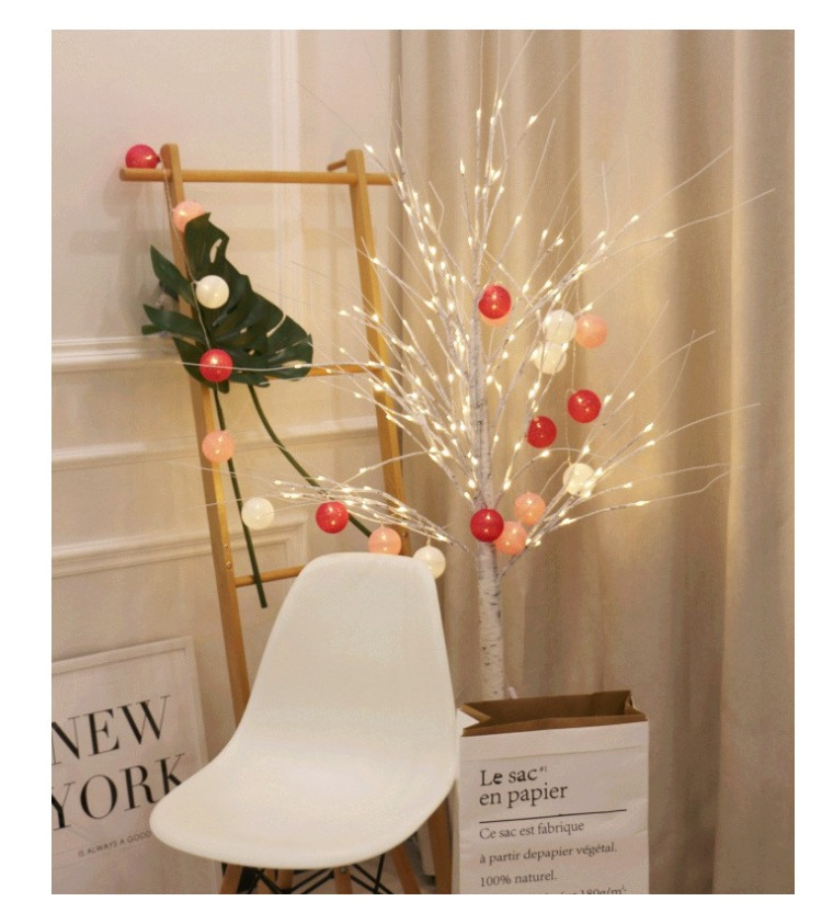 Cherry Blossom Light Tree Trunk Landscape Warm White Wedding Luminaria Outdoor Lighting Lamp New Year Christmas Remote control in LED Spotlights from Lights Lighting