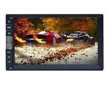 "7"" HD Touch Screen Car Video Player Bluetooth Stereo Radio FM/MP5/MP4/MP3/Audio/ USB Auto Electronics In Dash 2 Din Automobile"