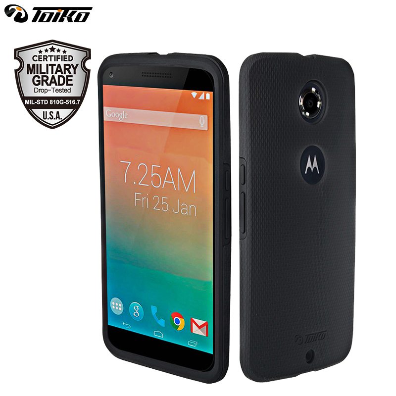 X Guard PC Silicone Case For Motorola Moto Google Nexus 6 Dual Layer Hybrid Phone Cover Drop Protection Armor Mobile Shell