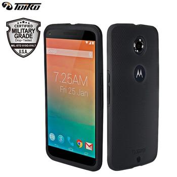 TOIKO X Guard PC Silicone Case for Motorola Moto Google Nexus 6 Dual Layer Hybrid Phone Cover Drop Protection Armor Mobile Shell