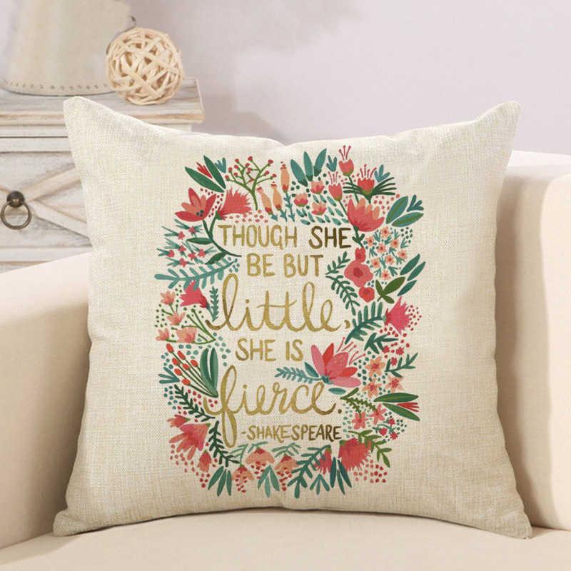 alphabet animal flower high heels letter cushion cover (5)