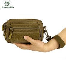 лучшая цена Shoulder Bags For Men Nylon Waterproof Outdoor Tactical Waist Pack Army Fans Outdoor Camouflage Small Bag bolso