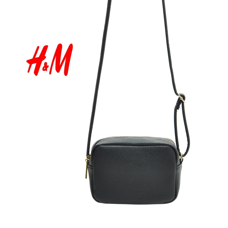 H&M fashion classic contracted square pillow small bag Inclined ...