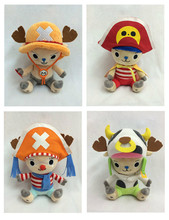 Christmas Gift 8inch ONE PIECE Stuffed Toys Supply Chopper Cosplay Series Model Lovely Ace Buggy Pirate Cow Chopper Doll