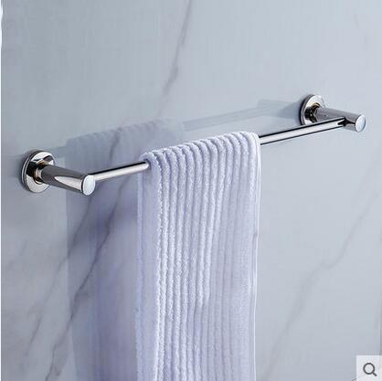 40-60cm Wall Mounted Bathroom Towel Bar Rack 1 or 2 Rail Holder Stainless Steel