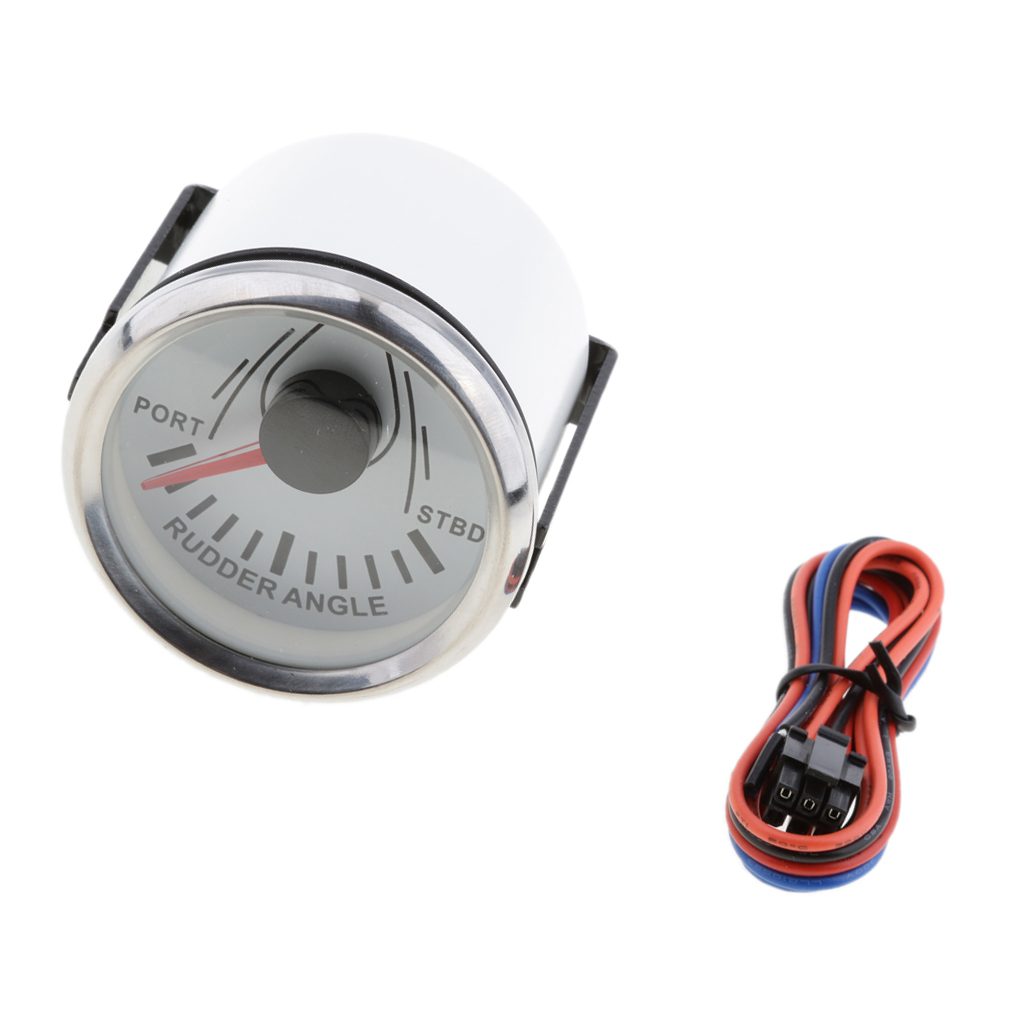 Image 4 - Marine Rudder Angle Gauge With Mating Sensor 0 190 52mm 900 00074-in Marine Hardware from Automobiles & Motorcycles