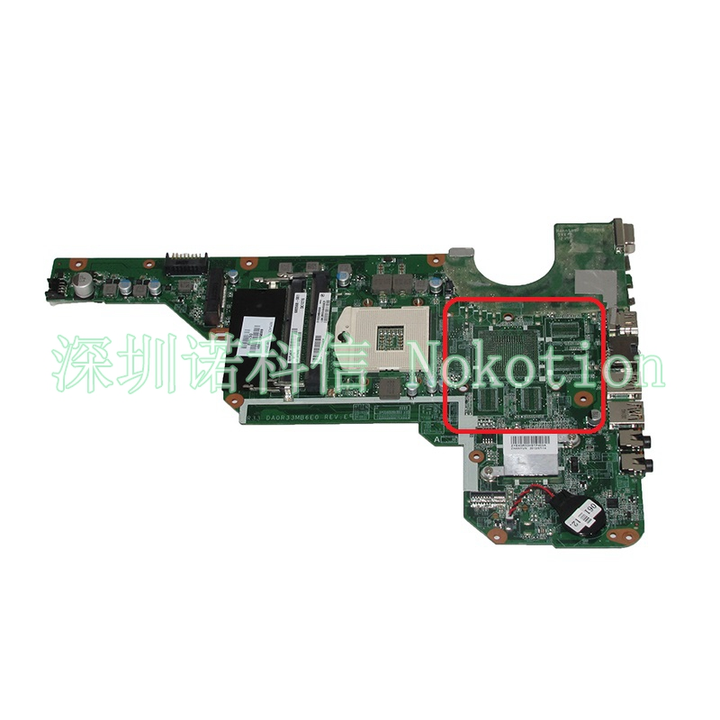 все цены на 680568-501 Laptop Motherboard For HP Pavilion G4 G6 G7-2000 G6-2000 G4-2000 DA0R33MB6E0 680568-001 Main board