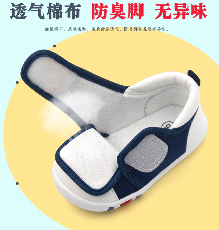 Spring Newest Baby First Walkers Shoes Breathable Autumn Canvas Boys Girls Infant Soft Sole Anti-slippery Warm Toddler Shoes (4)