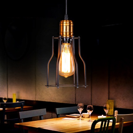 Nordic Loft Style Iron Droplight Industrial Edison Vintage Pendant Lamp Dining Room RH Hanging Light Fixtures Indoor Lighting rh loft edison industrial vintage style 1 light tea glass pendant ceiling lamp hotel hallway store club cafe beside