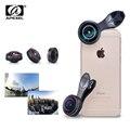 Apexel lente 8mm 238 degree super fisheye lens, 0.2x full frame nenhum círculo escuro lente grande angular para iphone smartphone android