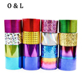 1roll 4cm*120m Fashion Nail Art Transfer Foil Sticker Paper  Star Shiny Design DIY Manicure Nail Decoration Tools 66Colors