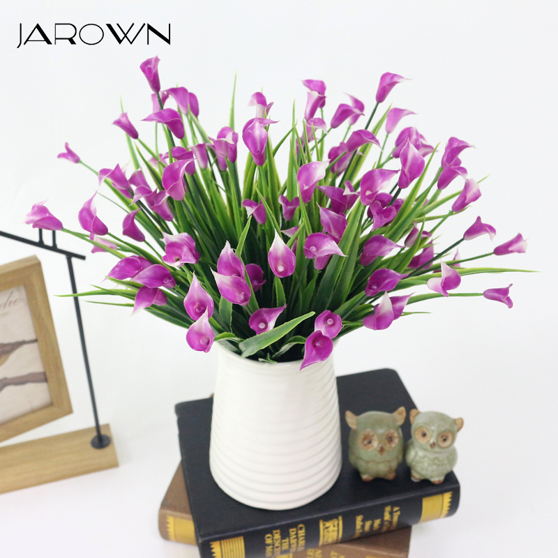 Jarown Artificial Trumpet Flower Morning Glory Simulation Small
