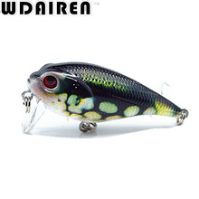 1Pcs 5.5cm 9g Crank wobblers Bass Fishing Lures Swim bait Fishing japan Hard Crazy Crankbait Tackle Fish Lure Depth 0.5M NE-388