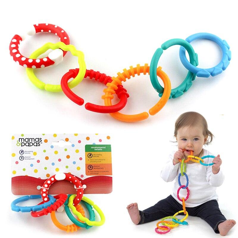 Прорезыватель для зубов для младенцев, Жевательная для прорезывания зубов, игрушка с кольцом, цепочка для ухода за ребенком, Прорезыватель для зубов, прорезыватель для новорожденных мам и детей