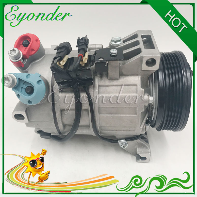 A/C AC Air Conditioning Compressor Pump 5PK for VOLVO XC70 II D5 AWD 2.4 D D4 AWD 36000231 36001373 <font><b>30780443</b></font> 31250519 31291135 image