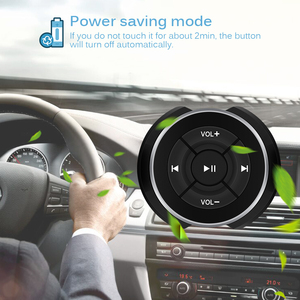 AOZBZ Car Steering Wheel Control Bluetooth Remote Control for Android IOS Smart Phone Steering Wheel Bluetooth Remote Control(China)