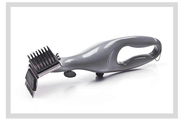 Cepillo de limpieza de barbacoa de acero inoxidable para barbacoa, limpiador de parrilla al aire libre, con energía de accesorios de barbacoa de vapor, herramientas de cocina