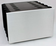 WA80 Aluminum enclosure Preamp chassis Power amplifier case/box size 425*407*260mm