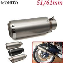 2019 Motorcycle SC exhaust escape Modified Exhaust Muffler DB Killer For SUZUKI RMZ250 RMZ450 DRZ400SM RMZ 250 450 DRZ 400 SM цена и фото