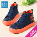 New 2015 autumn fashion Boys & Girls shoes High children Shoes rubber Kids Sneakers casual Children Sneakers Size 23-37