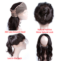 8A 360 Lace Virgin Hair Lace Frontal 360 Brazilian Body Wave 360 Lace Frontal Wave Human Hair Body Wave Frontal Lace Closure